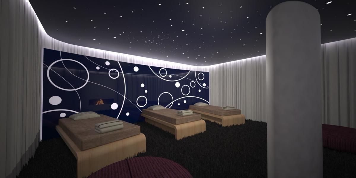 Vitalclub entreprise sport nos concepts marques for Salle de relaxation