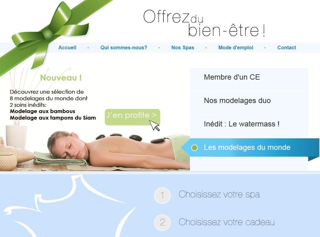good our spa gift box merchant website with groupe maison du monde